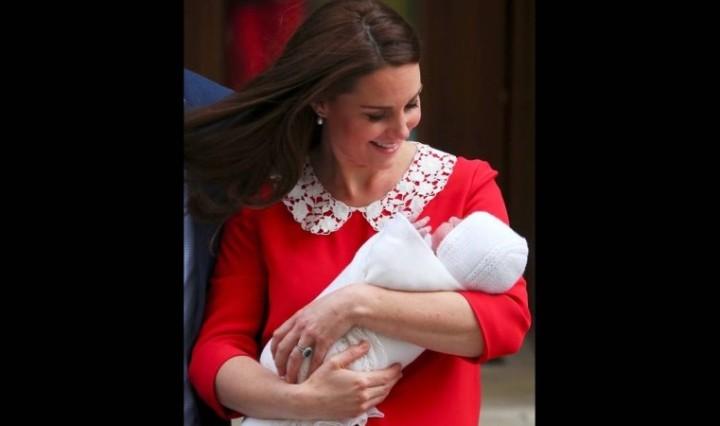 Οι πρώτες φωτογραφίες της Κέιτ Μίντλετον και βασιλικού μωρού 7936146bf8c